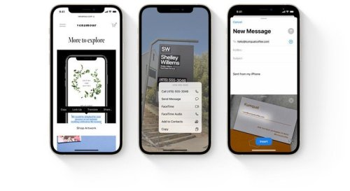 Apple's new Live Text feature for iOS 15 requires A12 Bionic chip