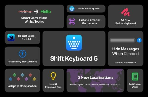 Big Shift Keyboard 5 update makes typing easier on ALL Apple Watches