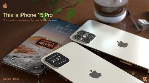 This iPhone 15 Pro concept is utterly bonkers and insanely great