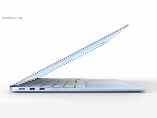 New render imagines a redesigned and colorful MacBook Air