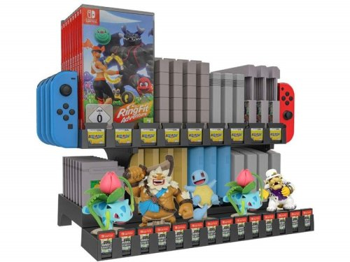 Show off your collection of Switch games and Nintendo memorabilia