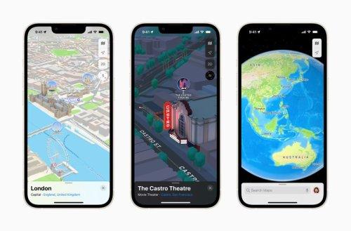Apple details iOS 15 Maps improvements, plans for 3D view expansion