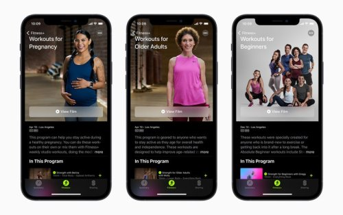 Apple announces new 'welcoming and inclusive' Fitness+ workouts
