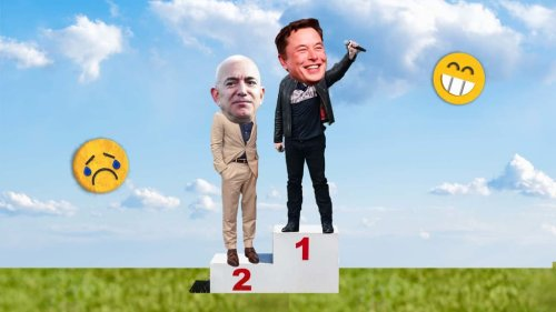 With 1 Emoji Elon Musk Gave Jeff Bezos Exactly What He Wanted--And What Every Founder Needs