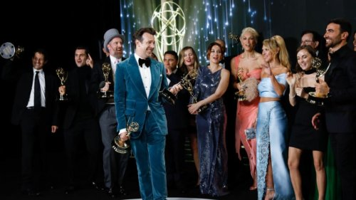 Everyone Needs to Hear These 10 Words from Jason Sudeikis' Ted Lasso Emmy Acceptance Speech