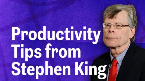 3 Things Stephen King Says You Must Do to be Successful