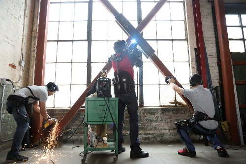SuitX's Iron Man-like exoskeleton prevents injuries in heavy lifting jobs