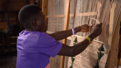 Ugandan startup transforms banana waste into textiles, carpets