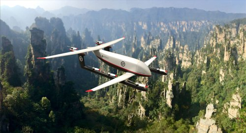 Pipistrel to develop heavy cargo hybrid VTOL drone for SF Express