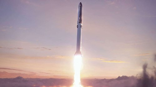 SpaceX reveals plan for Starship's first orbital flight