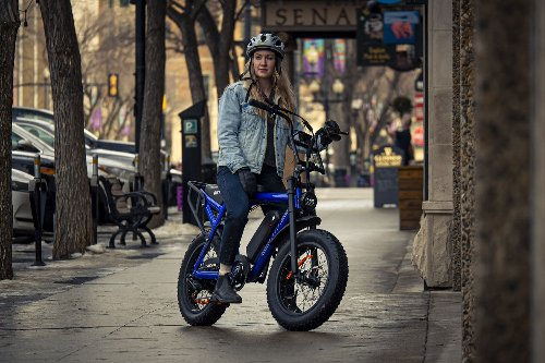 Biktrix Moto, a moped-style ebike with a range of over 100 miles