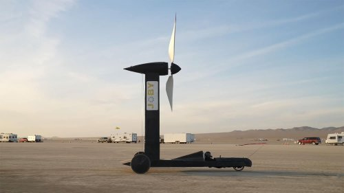 A physicist and a YouTuber bet $10,000 on if a wind-powered vehicle can outrun the wind