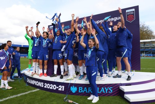 Chelsea retain WSL title with final day win over Reading