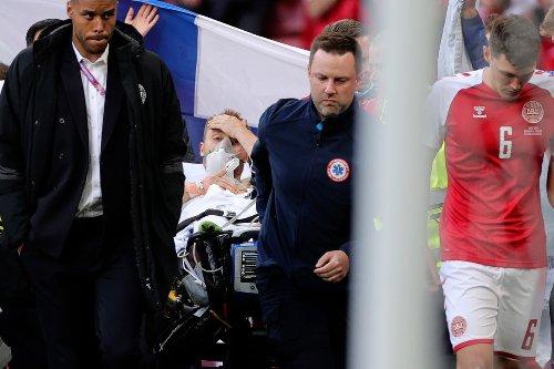 Football world unites around Christian Eriksen
