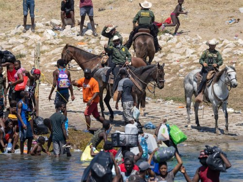 I asked Border Patrol for details on the 'reins' they used against Haitian migrants