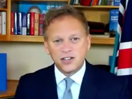 Brexit has been a 'factor' in fuel crisis, Grant Shapps admits