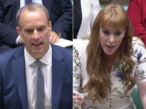 Rayner says minimum wage workers need 50 days' pay to stay at Raab's Crete hotel