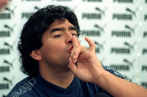 Diego Maradona honoured with holographic display at Copa America