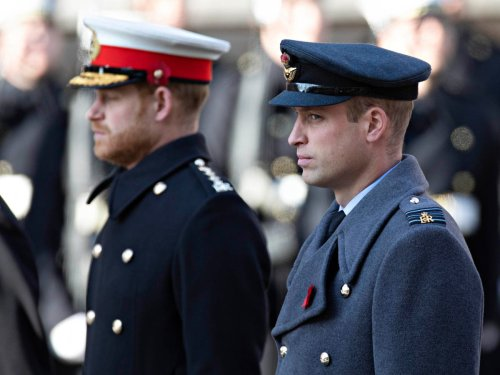 William and Harry to walk apart at Philip's funeral