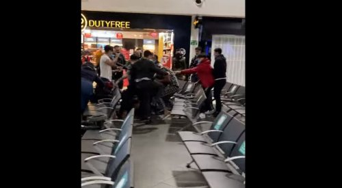 Three passengers in hospital and 17 arrested after Luton Airport brawl