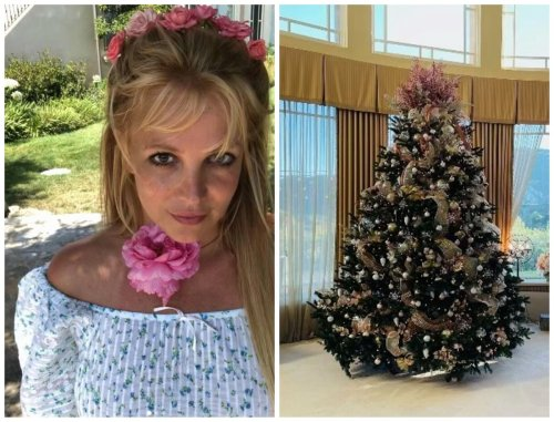 Britney Spears is celebrating Christmas early this year