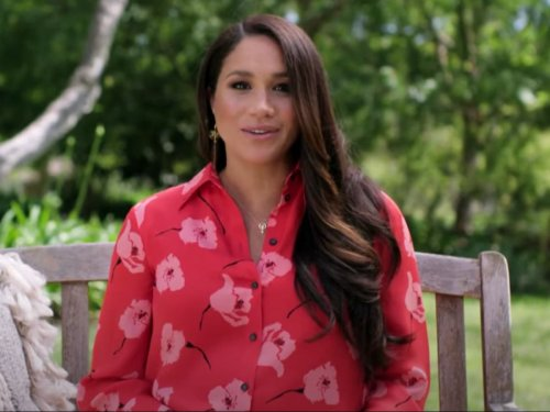 Meghan Markle makes first TV appearance since Oprah interview