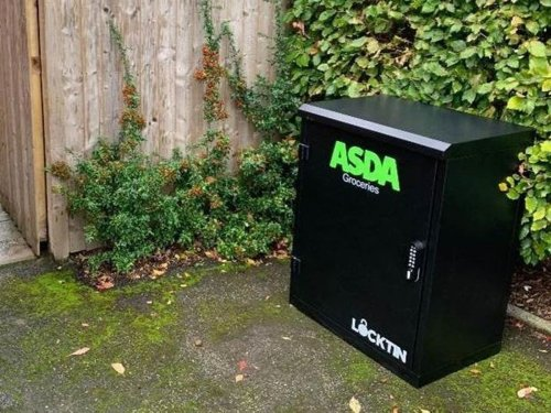 Asda trials new home delivery system for customers who aren't home