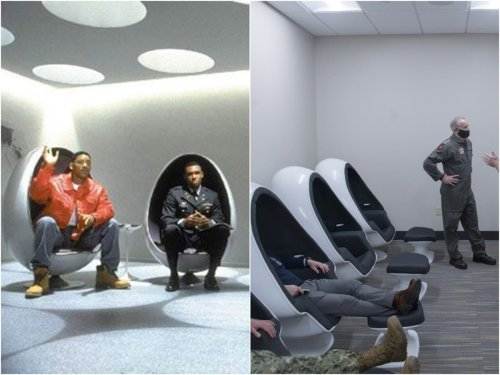 Image of US Navy training centre bears a striking resemblance to 'Men in Black' headquarters