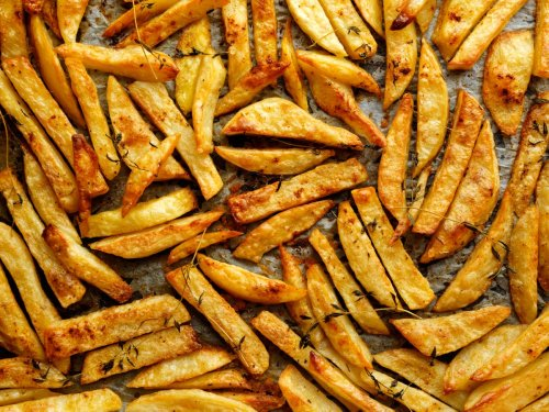 Yotam Ottolenghi's perfect oven chips, with a Middle Eastern twist
