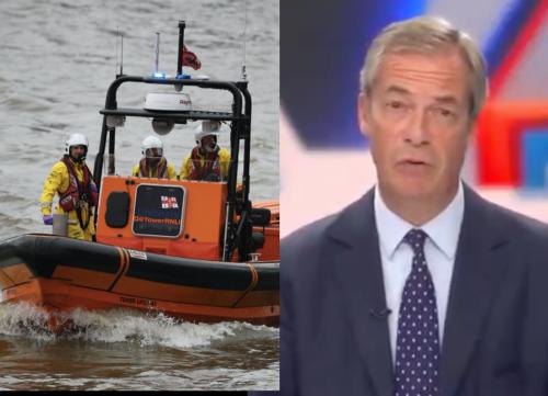 Opinion: The RNLI is saving lives at sea. Terrible, isn't it, Nigel Farage?