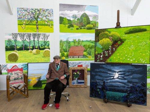 Hockney or hackneyed... Has Britain's greatest art rebel lost his edge?