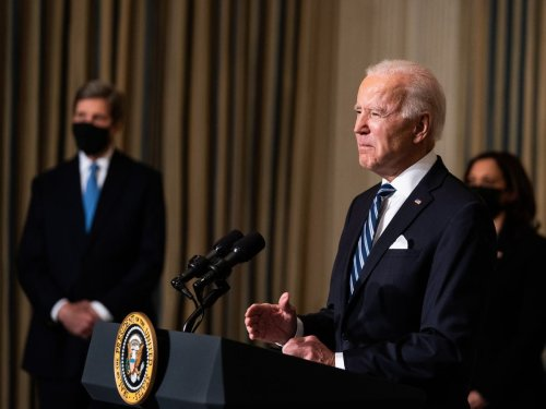 Biden issues stack of orders to tackle climate crisis after four years of Trump