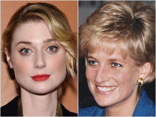 The Crown fans share excitement as Elizabeth Debicki is pictured on set as Princess Diana for first time