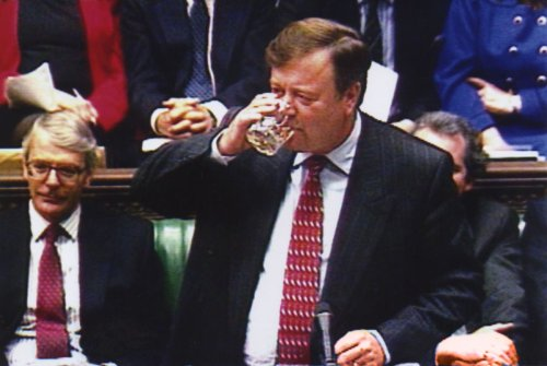Why chancellor can drink in the Commons - but only on Budget day