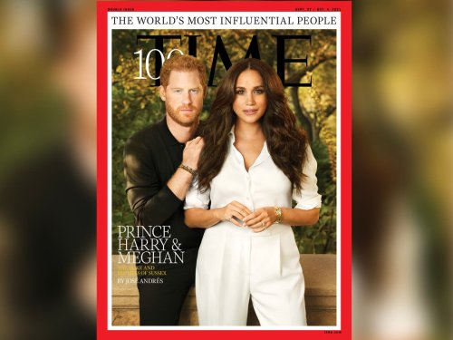 Royal fans claim Prince Harry's hair was Photoshopped on Time cover