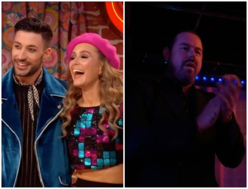 Strictly Come Dancing 2021: Danny Dyer supports Rose Ayling-Ellis during live show