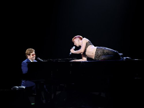 Elton John and Olly Alexander's performance of 'It's a Sin' at the Brits hailed as 'utterly incredible'