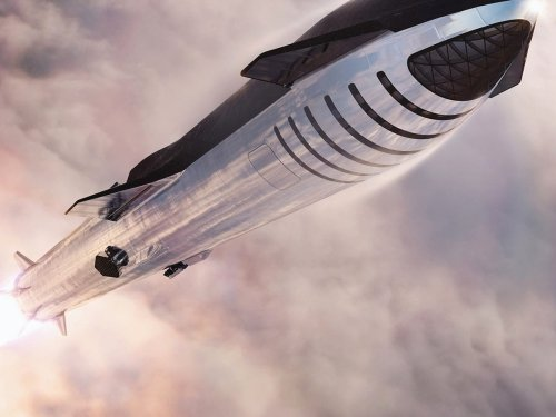 SpaceX's Mars-bound Starship rocket will have Starlink internet onboard