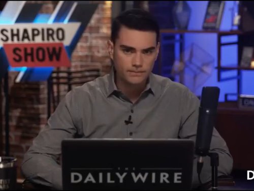 Ben Shapiro made the same Mother's Day 'joke' again and it still wasn't funny