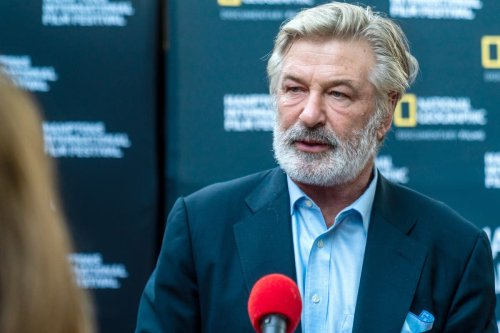 Alec Baldwin 'crying' outside sheriff's office as he accidentally kills woman