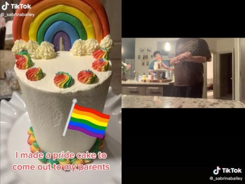 Woman captures parents' heartwarming reaction to coming out as LGBTQ+
