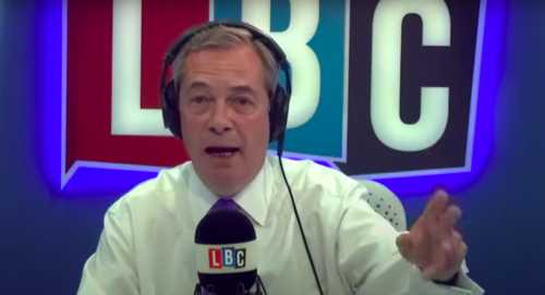 This Farage quote about 'moving abroad if Brexit is a disaster' has aged terribly