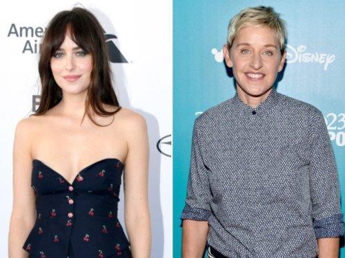 Dakota Johnson interview resurfaces and memes pour in after Ellen announcement
