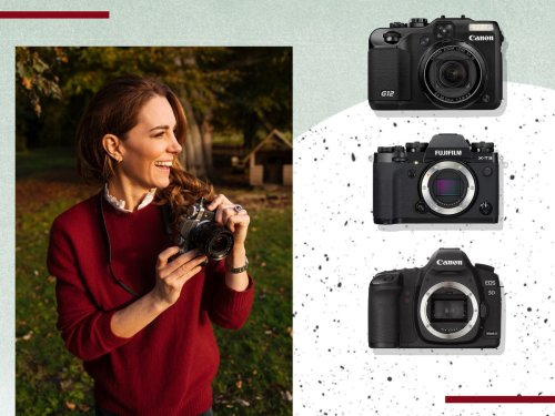 These are the cameras that Kate Middleton uses to take her family photos