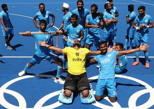 Huge wave of celebration in India as men's hockey team win first medal in 41 years