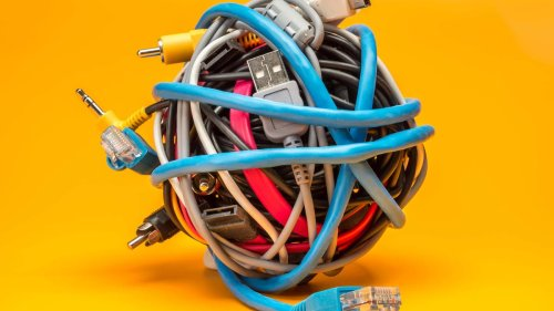 Tired of unsightly wires? Here's how to make the tech in your home tidier
