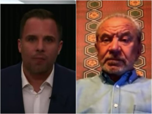 Lord Sugar calls out 'stupid bloody question' in awkward GB News interview