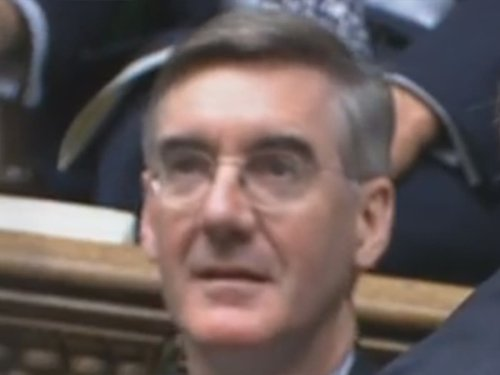 Jacob Rees-Mogg and Therese Coffey among unmasked on Tory frontbench during Budget