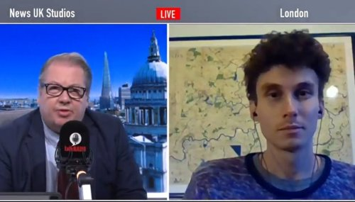 Insulate Britain protester speechless as radio host says concrete can grow on trees