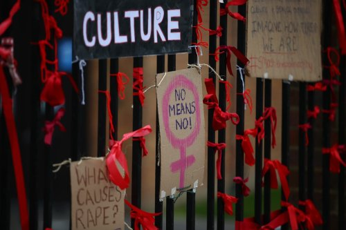 Government apologises to the thousands of rape victims who have 'gone without justice'